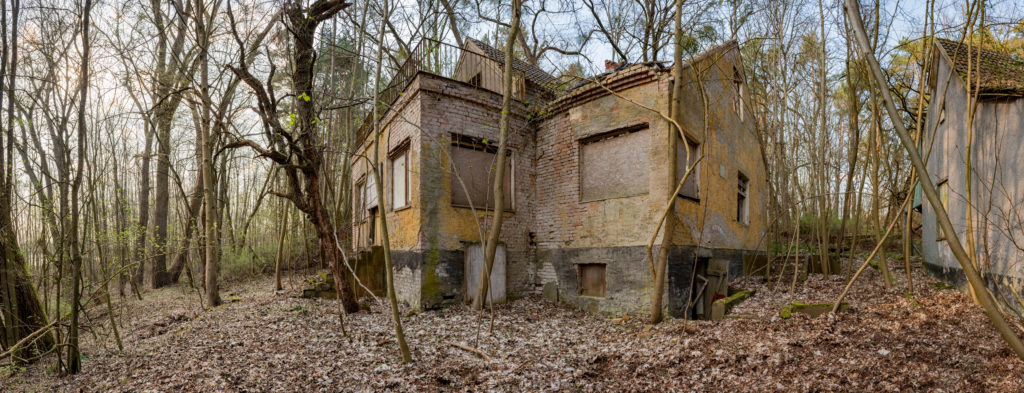 Das ehemalige SS-Kinderheim des KZ Ravensbrück. Foto: Christoph Löffler, Berlin
