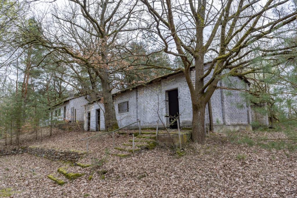 Die sowjetische Sauna auf dem Gelände der ehemaligen DAW-Tischlerei Ravensbrück. Foto: Christoph Löffler, Berlin