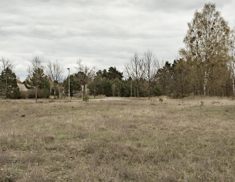 Das Gelände des ehemaligen WVHA-Ausweichlagers Ravensbrück. Foto: Christoph Löffler, Berlin