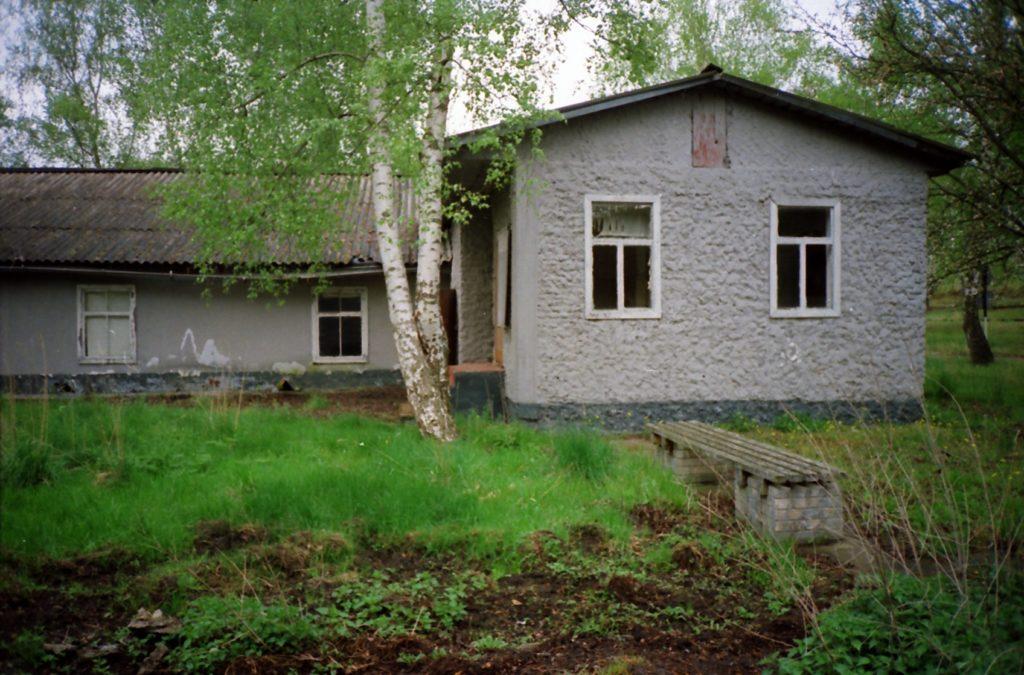 Sowjetische Umbauten der ehemaligen Lagergärtnerei im Jahr 1995. Foto: Reinhard Plewe (Privatbesitz R. Plewe)